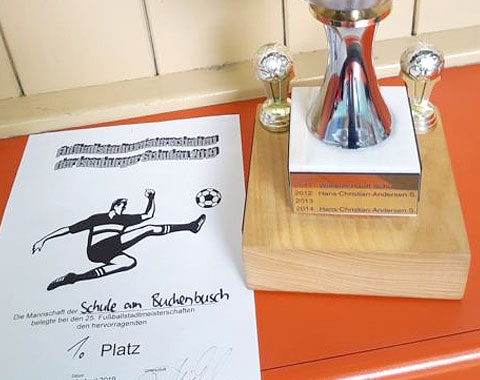 Sieger bei den Fußball-Stadtmeisterschaften 2019
